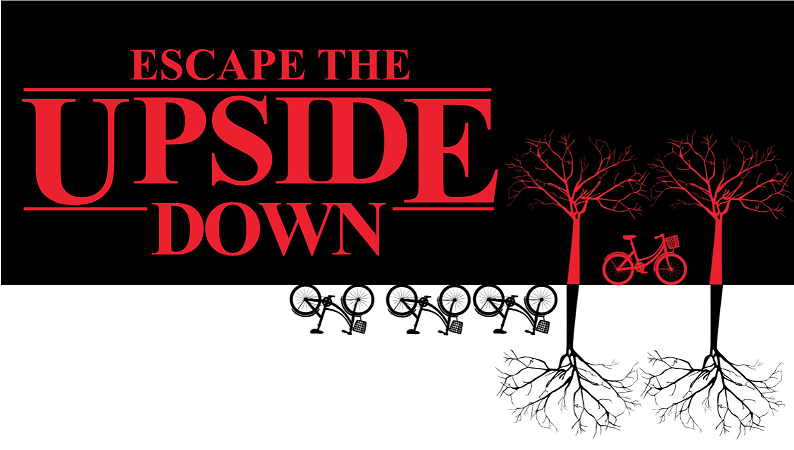 Escape the Upside Down escape room for adults
