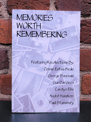 Chapbook from the first Memories Worth Remembering writing workshop