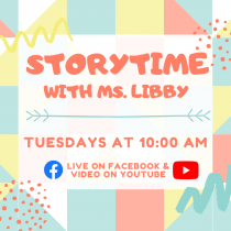 Virtual Storytime with Ms. Libby