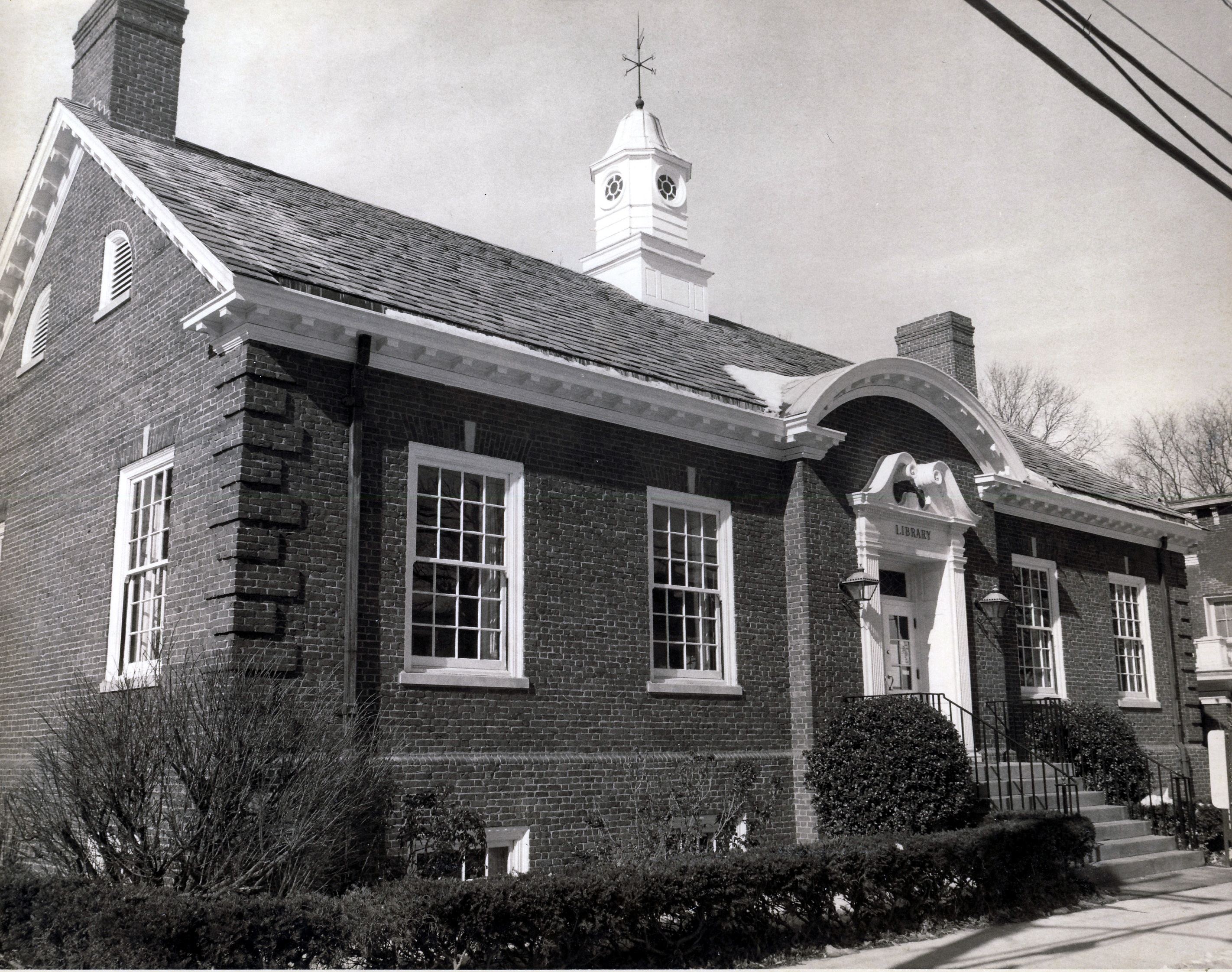 1939 Library exterior